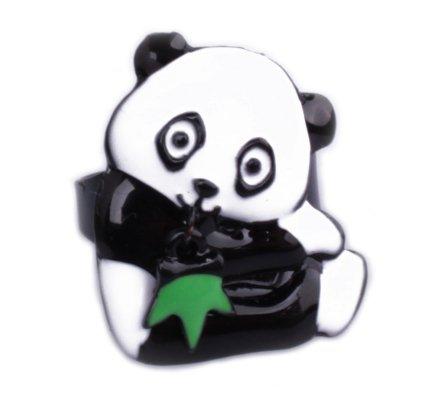 Bague Lolilota Panda et son bambou